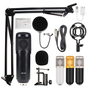 BM 800 home Studio recording equipment condenser microphone mic kit set with BM800 BM-800 for Broadcasting karaoke computer 201110