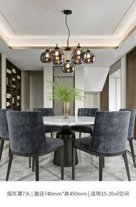LED modern light  chandelier lamp livingroom diningroom bedroom study Nordic simple lighting industrial wind