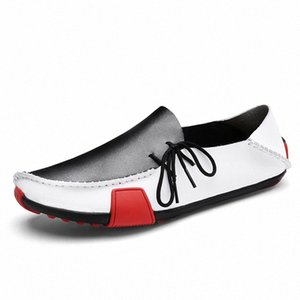 Men Shoes Loafers Leather Casual Shoes Handmade Moccasins Men Comfortable Driving Sneakers Male Designer Design Footwear #Tc63