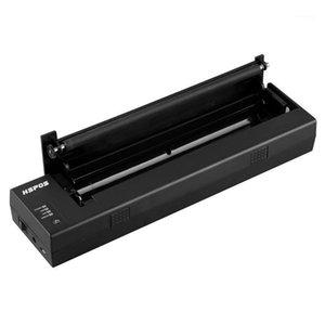 Mais novo Thermal Mobile Portable A4 Impressora USB Suporte Todos os Windows e Linux Driver 210mm Max Largth papel para impressão de arquivos1