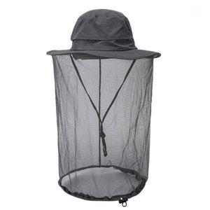 Yaz Anti-Cibinlik Net Şapka Güneş Koruma Catkin Sun Hat Naylon Malzeme1