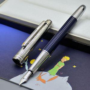 Yüksek Kaliteli Petit Prens 163 Dolma Kalem Ofis Kırtasiye 0.7mm Nib Kaligrafi Mürekkep Kalemleri Doğum Günü Hediyesi Için