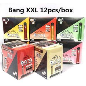 NEW Bang XXL Disposable Vape Pen Device 800mAh Battery 6ml Pods Empty Vapors 2000 Puffs Bang XXtra Vape Kit DHL FREE