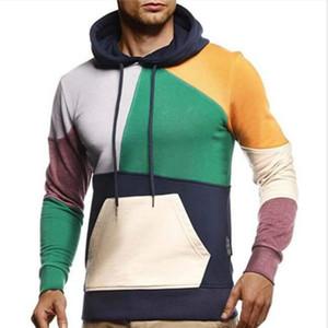Bonjean 2020 Tops delgados y jerseys Sudaderas de manga larga para ropa de otoño masculino Sudadera con capucha para hombre BJ3266