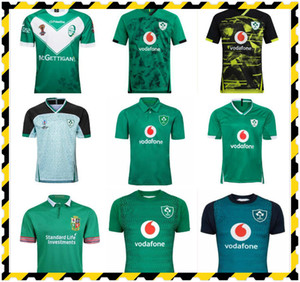 20 21 Irlande Rugby Jerseys 2019 Coupe du monde Irlande Team National Team Rugby Home Awn Jacket Rugby Shirt Polo Vest S-5XL