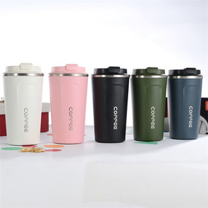 Stainless Steel Cup Double Deck Coffee Bottle Vacuum Originality Multi Color Fashion Diy Woman Man Mug Worklace 16bc K2