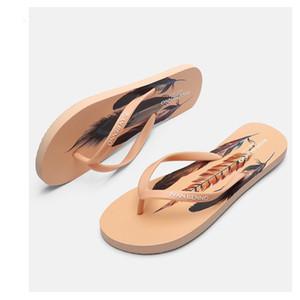 Slippers For Women Flip Flops Summer Beach Sandals Non-Slip Casual Shoes Indoor Outdoor Slide J1205