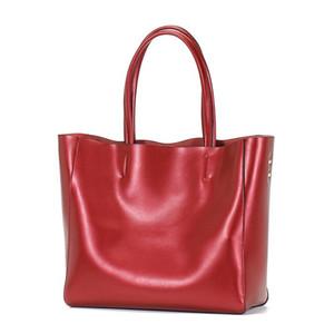 OCEHNUU Fashion Tote Handbags For Women 2020 Designer Luxury Shoulder Bag Woman Real Leather Purses Ladies Bags Large Capasity