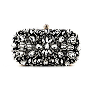 Women Luxurys Designer Bags 2021 Handbag Sparkly Diamond Crystal Clutch Shiny Rhinestone Evening Shoulder Purse for Party