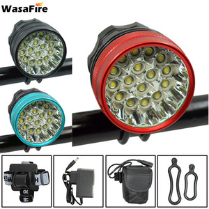 Wasafire Cycling Headlamp Bicycle Lights Headlight T16 XM-L LED 40000 Lumen Bike Front Light Lamp Rechargeable 201204