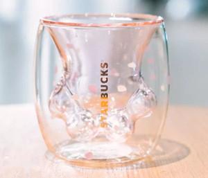 Paw claw Mug 2019 Spring Starbucks Limited Eeition Cat Foot Coffee Cup Sakura 6oz