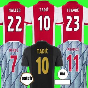 HALLER 20 21 AJAX a Amsterdam футбольная майка 2020 2021 TADIC KLAASSEN TRAORE PROMES NERES CRUYFF мужская детская форма футбольная форма 50-е