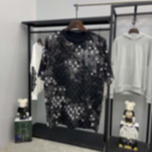 Fransa Son Bahar Yaz Paris Kamuflaj Mektup Baskı Tee T Gömlek Moda Hoodies Erkek Kadın Rahat Pamuk T-Shirt