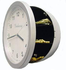 Clock Safe Original Clock Safe Jewelry Storage Box Storage Box Wall Keep your own little secret