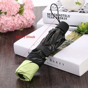ماجيك مياه تنقل مظلات ازدهار طلاء أسود حماية الأشعة فوق البنفسجية مظلة مشمس الأمطار مظلة Windproof ثلاثة قابلة للطي مظلة DBC VF1570