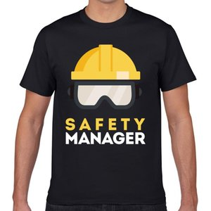 Tops T Shirt Men safety manager safety manager Vogue Vintage Geek Print Male Tshirt XXXL