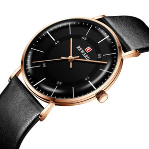 European and American style REWARD men s watches hot cross border watches ultra thin belt minimalist waterproof men s watches RD63088M