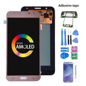 Super amooliert für Samsung Galaxy J701 J701F J701M LCD-Display-Screen-Screen-Bildschirm-Digitizer-Baugruppe für J701 J7 Neo Core