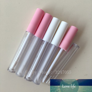 100pcs 2.5ml Empty Lip Gloss Tube Clear Frosted Lip Balm Tubes Containers Mini Lipstick Refillable Bottles Lipgloss Tubes