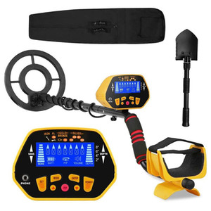 Underground Metal Detector Professional GC1028 Gold Digger Treasure GC1028 Updated Pinpointer LCD Display