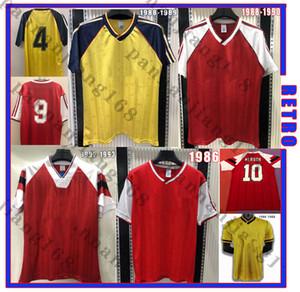 1988 1989 Merson Tony Adams Thomas Ретро Футбол Джерси Рокастель Диксон 86 88 90 92 93 Campbell Smith Wright Classic Винтажная футболка