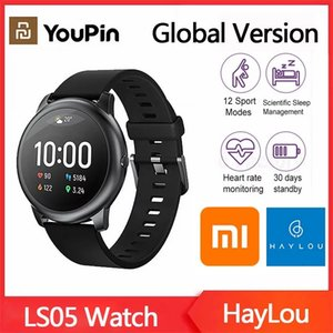 XiaoMi Haylou Solar Smart Watch LS05 Sport Metal Heart Rate Sleep Monitor IP68 Waterproof iOS Android Global Version From Youpin