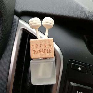 1pc Car Air Freshener Air Conditioner Vent Fragrance Diffuser Perfume Empty Bottle For Auto Pendant Essential Oil Scent Diffuser
