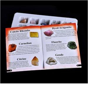 12-in-1 Kombinasyon Set Doğal Kaya Kristal Mineral Takı Ev Dekorasyon Çalışma Odası Dekorasyon DIY Hediye Ücretsiz Jllkqm