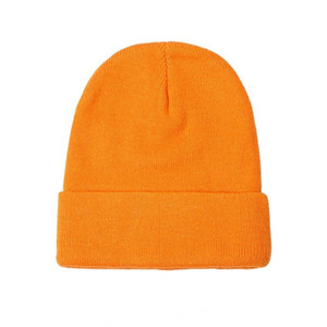 19SS Winter Men Women Bonnet Knitted Hat Hip Hop Big Embroidery Beanie Caps Casual Outdoor Hats