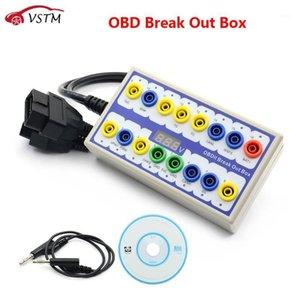 Best OBDII OBD2 Breakout Box Car OBD 2 Break Out Box Detector del protocollo automobile Auto può testare il connettore automobilistico auto-rilector1