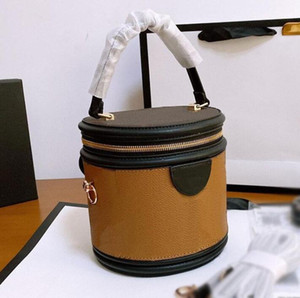 Mulheres Bolsas Bolsas Nova Moda Mulheres Designer Handbags Top Quality Cosmetic Case Bucket Bag Ombro Saco Crossbody Bags