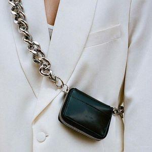 Thicken Chain Desin Shoulder Bag Female Small Handbag Luxury Mini Women Crossbody Bags Removable Shoulder Strap Clutch Bag