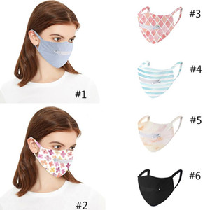 New style zipper face masks ultra-thin breathable mesh single layer cycling anti-UV Dust mask reusable HH9-3602