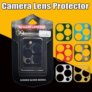 Camera Lens Protector для iPhone 12 11 Pro Max Cing Plating Aluminium Case Case для iPhone 11 Pro Max 12 с розничной упаковкой
