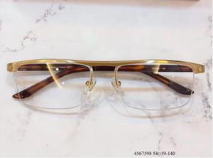 Nouveaux verres Cadre Clear Lentilles Lurés Myopia Lunettes de vue Rétro Oculos de Grau Men et Femmes Myopia Lunettes Cadres avec étui