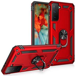 Cas de téléphone magnétiques pour Samsung Galaxy S21 Fe A22 A32 A52 Moto G STYLUS 5G Jouer 2021 Couvertures robustes pour iPhone 12 360