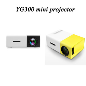 YG300 YG-300 LCD LED Portable Projector Mini 400-600LM 1080p Video 320 x 240 Pixel Media Lamp Player Theater Cinema Overhead