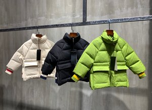 New fashion kids winter jackets childrens warm winterproof long sleeve down jackets baby clothes