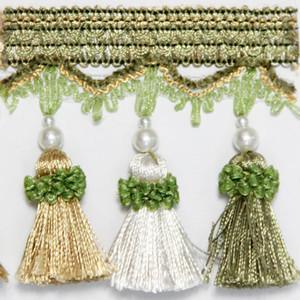 6 m Beutel Quaste Vorhang Fransing Dekorative Vorhangzusammenhänger Fransen Vorhang Zubehör Spitzenbesatz 6 m Bag H Jllnyl