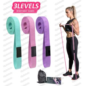 Resistance Bands expander Fitness Sport Gum loops Yoga Gym Pull Rope Training exercises Bands Non-slip Workout Equipment Free DHL