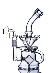 Glass Bong Beaker Base Tobacoo Straight Tube Triple Layer Comb Perc Percolator Dab Oil Rig Oil Burner Glass Water Pipes With Ice Catcher