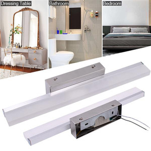 7W 40CM New and intelligent lamp Bathroom Light Bar Silver White Light high brightness Lights Top-grade material Lighting Indoor