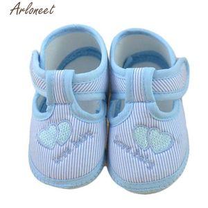 Arloneet First Walkers Newborn Girl Girl Boy Soft Sole Crib Toddler Scarpe Canvas Sneaker L02162