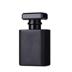 30ml Empty Glass Perfume Bottles Wholesale Square Spray Atomizer Refillable Bottle Scent Case With Travel Size SEA SHIPPING DHF3623