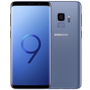 Refurbado original Samsung Galaxy S9 G960F G960U 5.8 pulgadas Octa Core 4GB RAM 64GB ROM 12MP Desbloqueado 4G LTE Smart Phone DHL 5PCS
