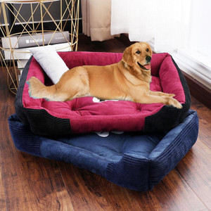 Pet Mat Dog Beds Waterproof Bottom for Small Medium Large Dogs Hand washable Warm Cat Bed House Kennel Sofa Blanket Products