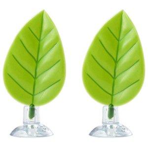 2 confezione betta amaca, pastiglie di foglie di pesce betta, piante di plastica acquario con ventosa
