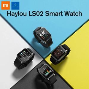 Xiaomi Haylou Solar LS02 Smart Watch IP68 Waterproof 12 Sport Models Bluetooth 5.0 Sport Heart Rate Monitor English Version Smart Wristband