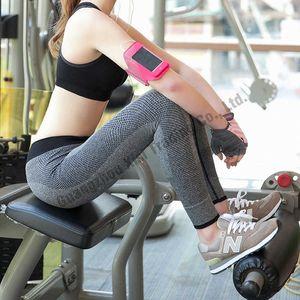 Plus Size Solid Color Women Fitness Elastic Sexy Joggers Sweat Pants Lulu Leggings Capris