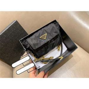 Diseñador de lujo de alta calidad Trendy Casual Nylon Tela Bolsa de cintura de diamante medieval Mini bolsa de hombro Mensajero Pequeño bolso cuadrado